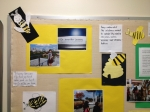 Developing work from 1st Grade Bee Project