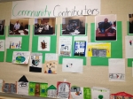 2nd Grade Project Wall